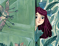 Book Covers Progetto -The Secret Garden-