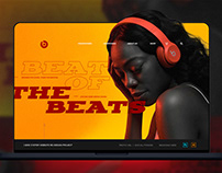 Beats By Dr.Dre : 고정형 웹 (황새나래)