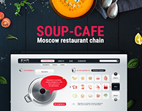 Soup Cafe. Moscow restaurant chain.