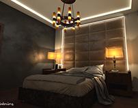 Interior design visualization for A.Alhakim interiors