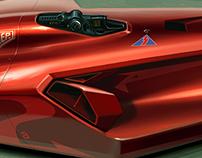 Autonomous F1. Concept 2