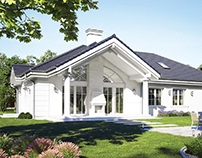 Projekt domu Willa Parkowa D