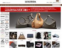 Prestashop based Ecommerce Luxuryda Shoping website