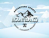 Mountain ski lovo