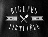 Logo design for Lithuanian cuisine restaurant