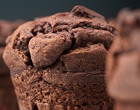 Chocolate muffins CGI