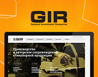 GIR: General Investment Resources