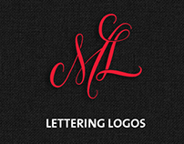 Logo lettering collection