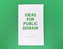 Ideas for public domain