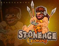 stoneage mascot logo
