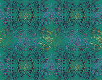 Abstract - A Luxury Home Textile Collection