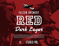 Label Design Vancouver / Falcon Brewery / Beer Labels