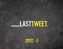 "Amnesty International ""Last Tweet"""