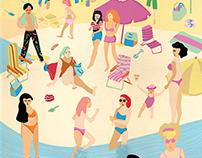 Lo que pasa en la playa