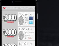 TexasHoldEm.com Mobile App Design