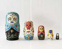 Coffin Russian Doll
