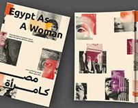 Egypt As A Woman   Editorial Publication