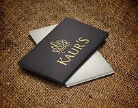 Kaur's Logo Design