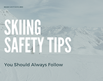 Skiing Safety Tips You Should Always Follow
