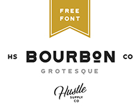 Bourbon Grotesque | FREE COMMERCIAL FONT