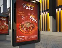 Pizza Flyers & Out Door Billboarding