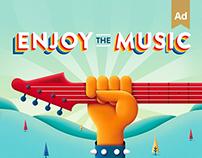 Enjoy The Music - Campaign & Activation - UBI Banca