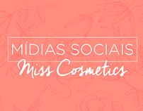 Miss Cosmetics │Mídias Sociais