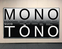 MONOTONO Art group exhibition at Ex-Dogana Roma