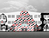 BAUBAUM. Фасад для нового здания CentralBox (2016)