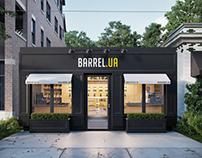 Alcohol Store Barrel