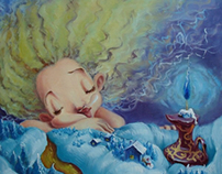 Dream-Oil painting