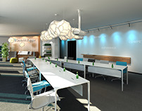Smurfit Kappa Showroom Neuss Visualization for BBCO