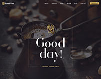 LeadGen - Multipurpose Marketing Landing Page - Cafe
