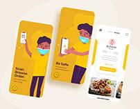 OkMenu Mobile app UI/UX