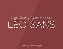 Leo Sans - Powerful and light font
