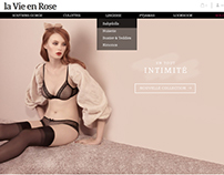 la Vie en Rose Website redesign