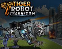 Lion Robot Car Robot Transform Game