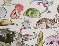 sketch - creatures