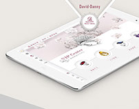 David·Danny Jewellery - Ipad guide system