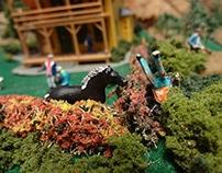 """Miniature  Midwest""; Missouri Botanical Garden, 2013"