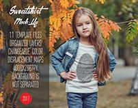 Kids Sweatshirt Mock-Up Vol.1 2017