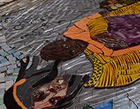 Mosiac Mural Taller Escuela del Sur