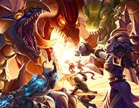Dragons & Diamonds Key Art (2014)