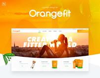 Orangefit | Webdesign