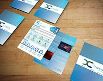 Brand Identity, Standee, Brochures, Folders - Cryptoa