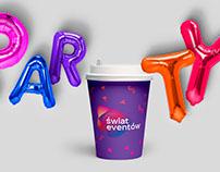 świat eventów - branding