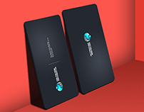 Business Card Showcase Mock up v.2 PSD