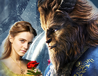 Movie poster Beauty and the Beast..