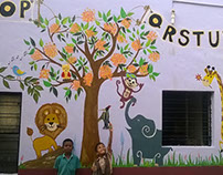 Environmental Design: Wall Project for School Children
