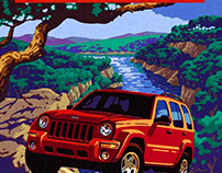 Camp Jeep Posters